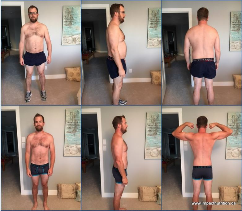 Ian Thomsen – Busy dad gets back in shape