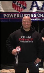 Kevin Dixon – AAU World Record Powerlifter