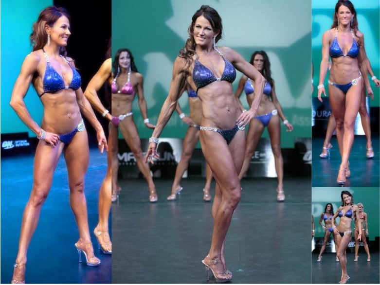 #fitmom Shelley Becker gets in the best shape of her life in her mid-40's!